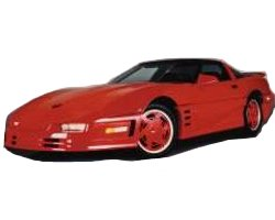 1984-1993 C4 Corvette Wide Body Kit AAK600